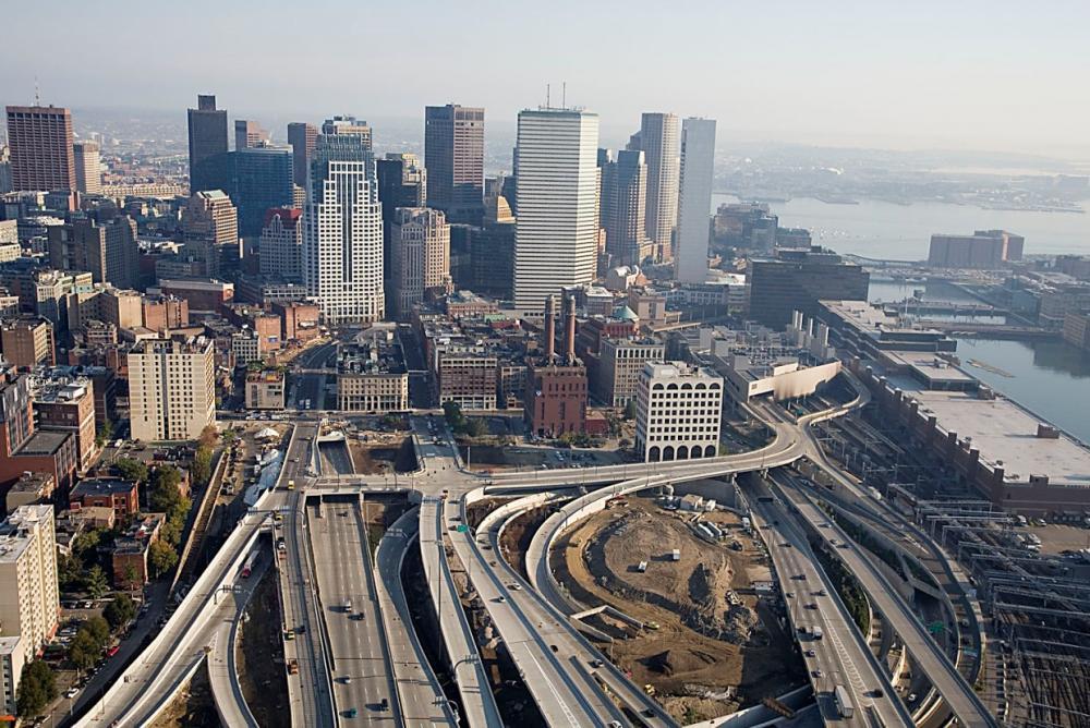 Развязка Южного Залива в Бостоне