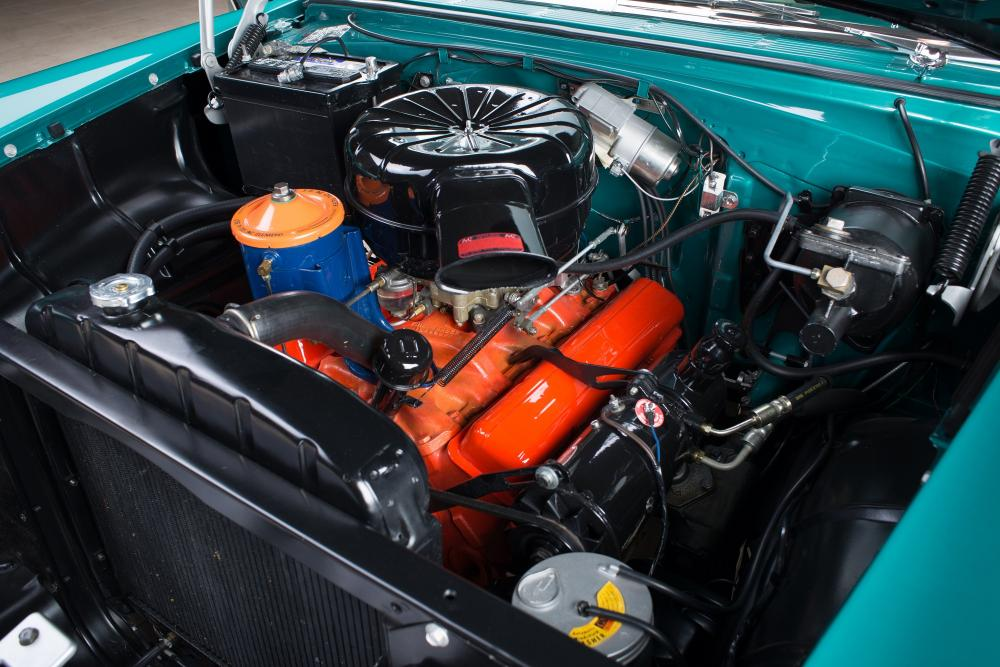Chevrolet Bel Air  под капотом