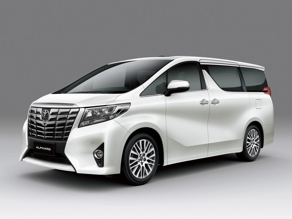 Toyota Alphard  третье поколение