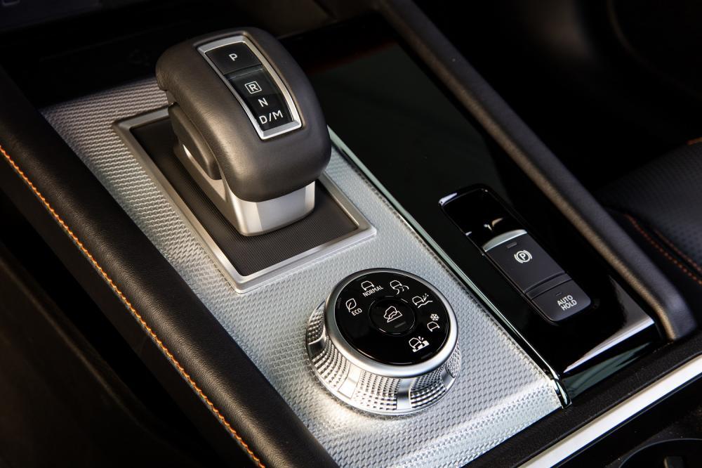 селектор Mitsubishi Outlander четвертого поколения