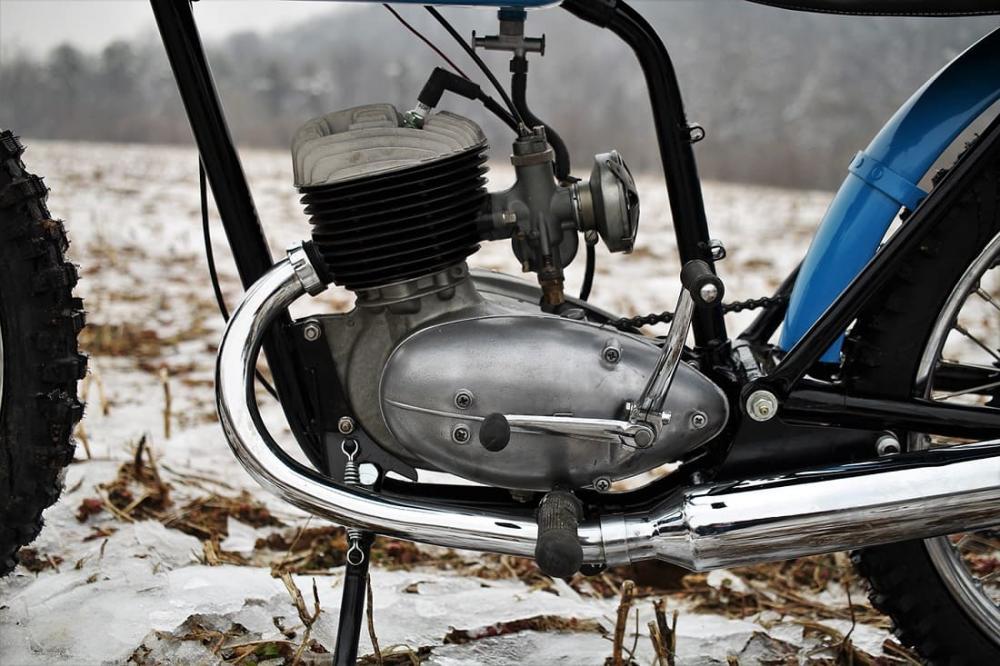 карбюраторный мотоцикл после зимы