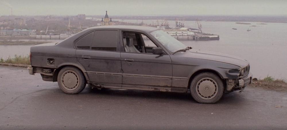 """Кадр BMW 520i E34 из фильма """"жмурки"""""""