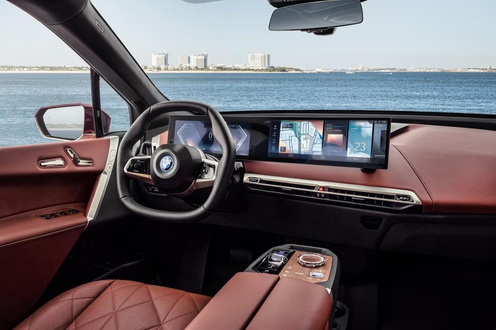 интерьер нового BMW iX xDrive50