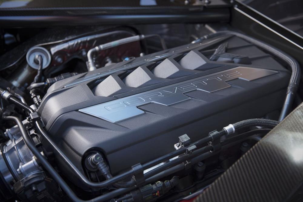 Двигатель Chevrolet Corvette C8 2020