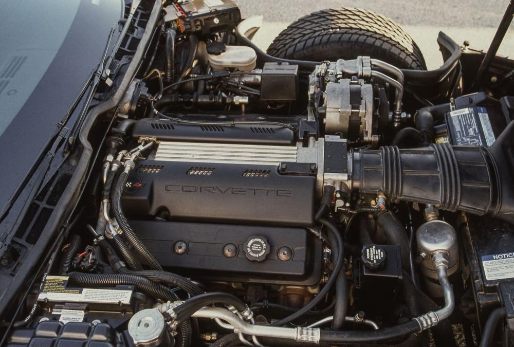 двигатель Chevrolet Corvette C4