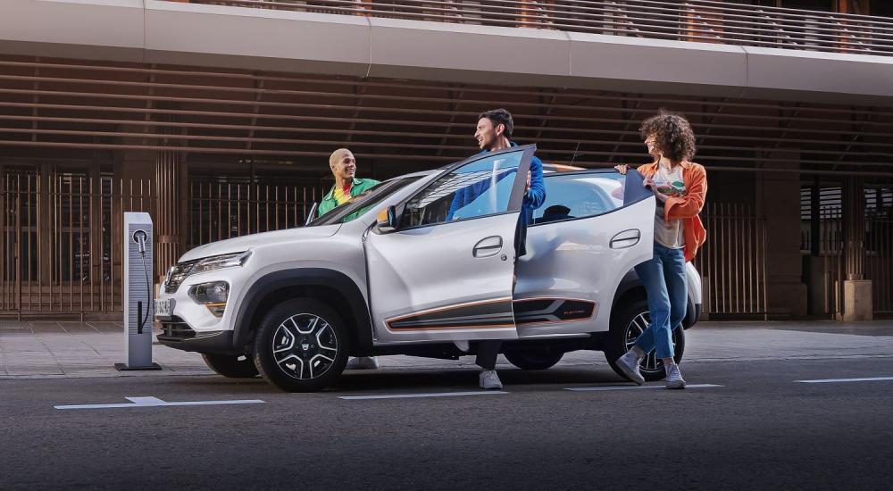 электромобиль Dacia Spring 2021