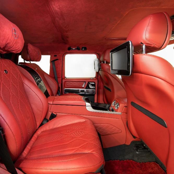 Интерьер Mercedes-AMG G63 от HOFELE-Design