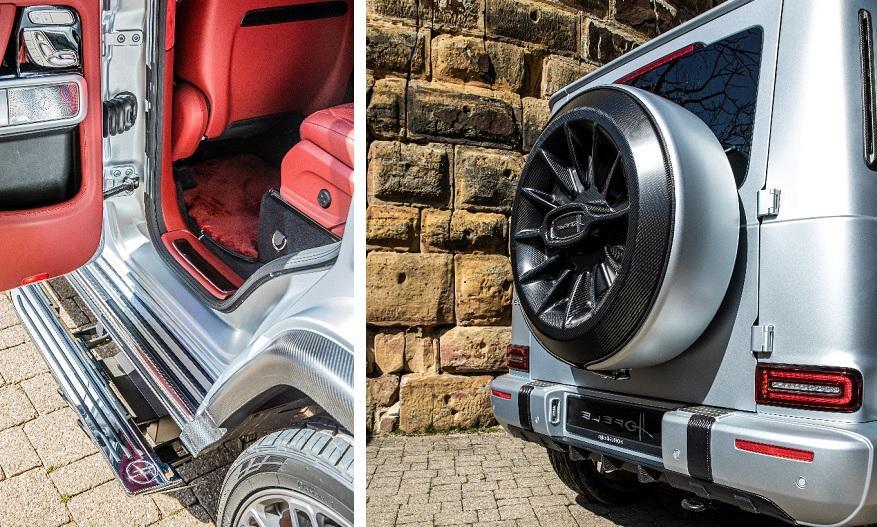выдвигающаяся подножка Mercedes-AMG G63