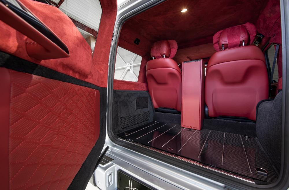 багажное отделение Mercedes-AMG G63