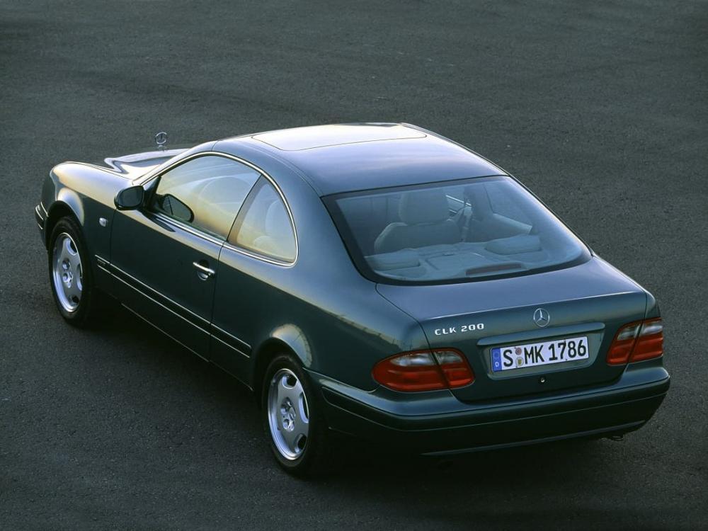 Mercedes-Benz CLK 1997–2002