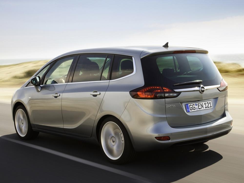 Opel Zafira Tourer 2011-2016 года