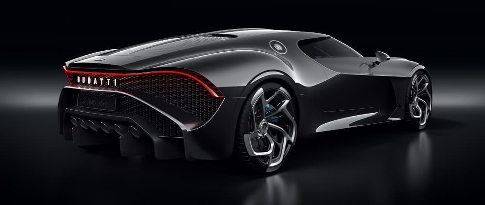 автомобиля Bugatti La Voiture Noire