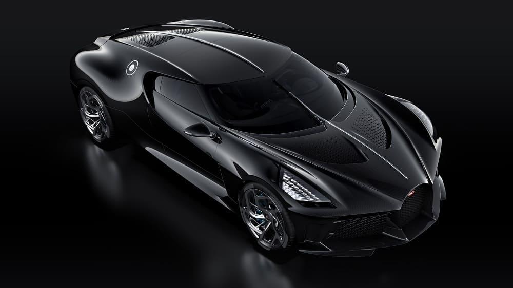 Bugatti La Voiture Noire внешне