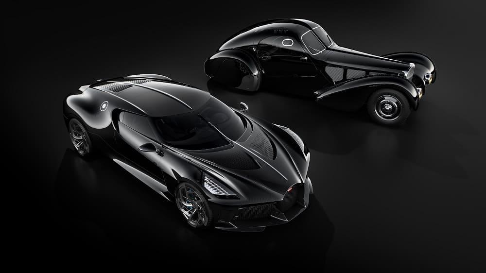 bugatti 57 и bugatti la voiture noire