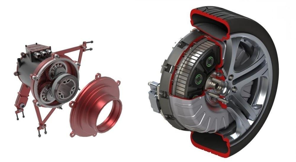колесо гибрида