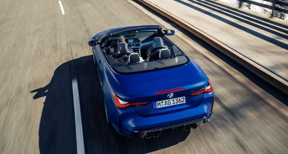 кабриолет BMW M4 Competition