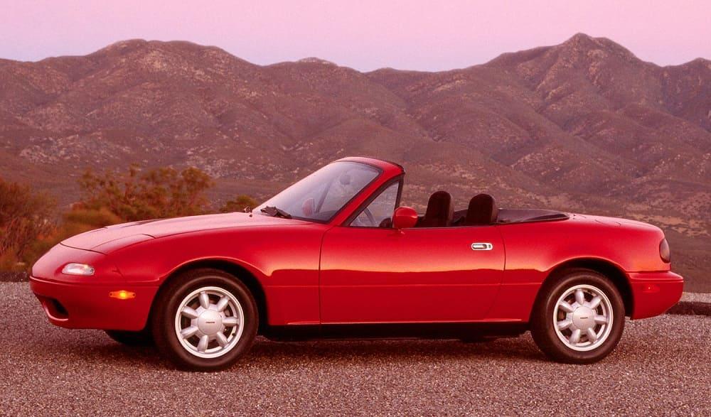 Mazda Miata 1989–93 г. выпуска