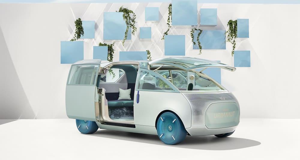 2020 года виртуальный концепт MINI Vision Urbanaut