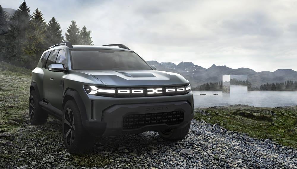 Концепт Bigster с новой эмблемой Dacia