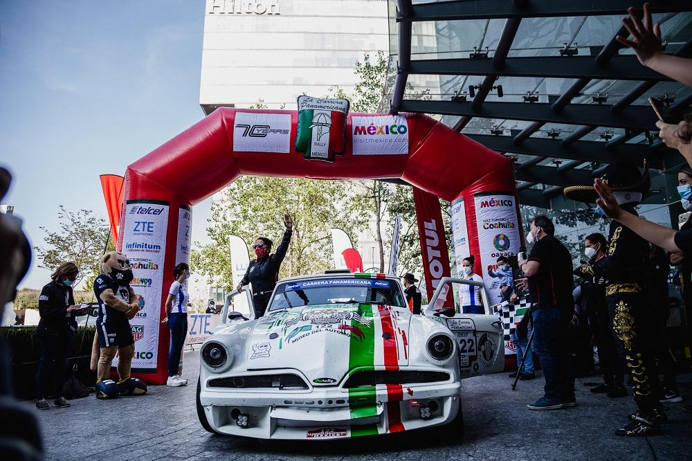 соревнования в La Carrera Panamericana