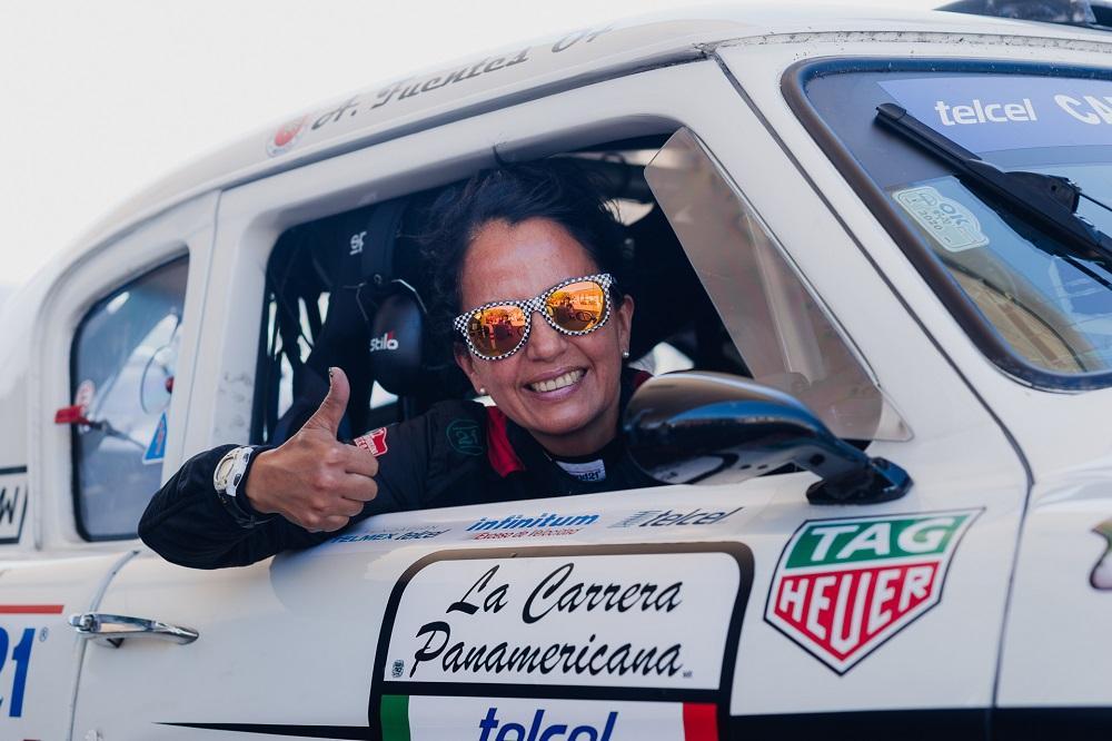 Чемпион Мексики в автоспорте Анжелика Фуэнтес