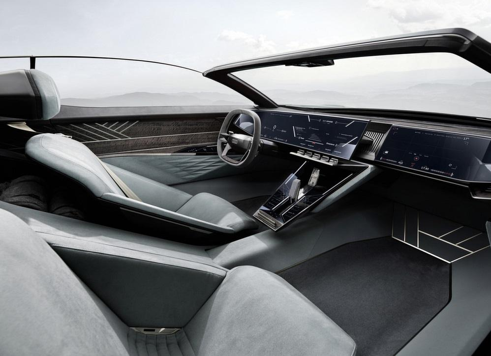 Audi Skysphere Concept интерьер