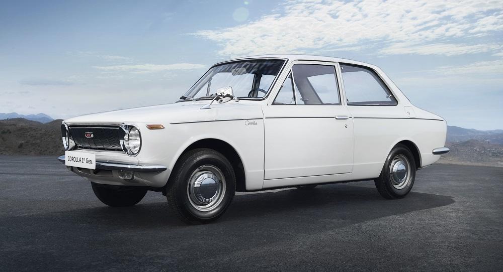 Первая toyota corolla sedan 1966 года