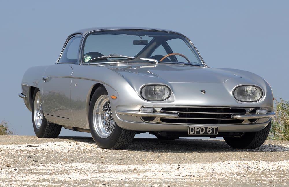 Lamborghini 350 GT 1964–66 год. Произведено 120 единиц