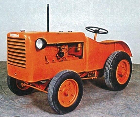 первый трактор Lamborghini Trattori 1949