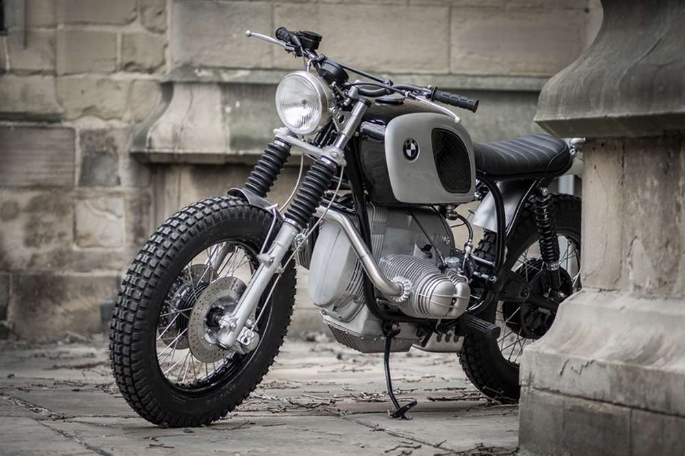 скрэмблер Bmw R807 от Down Out Cafe Racers Vercity