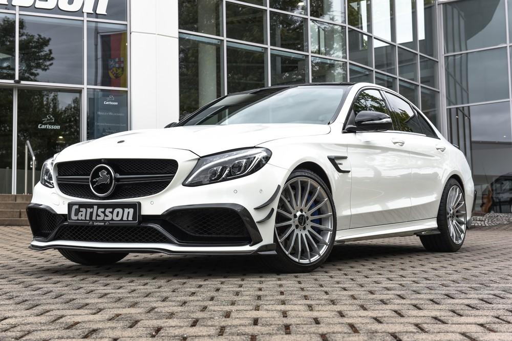 Carlsson «переобули» Mercedes-AMG C63
