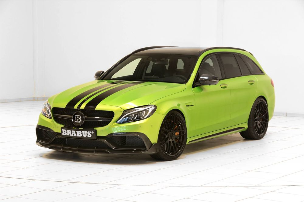 Mercedes-AMG C63 Wagon 650 «Green Hell» от тюнинг-ателье Brabus