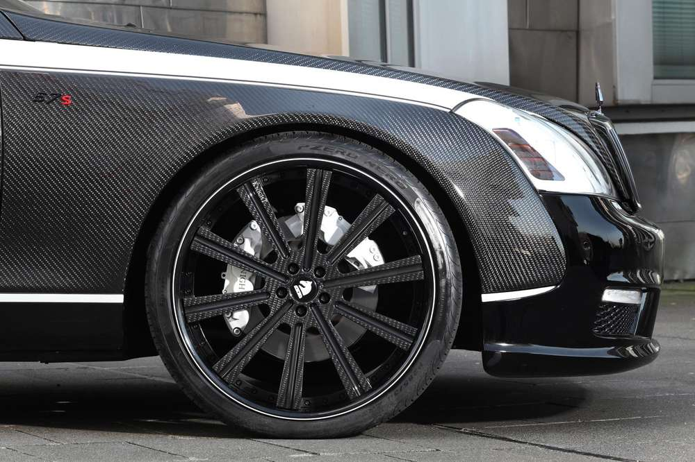 Maybach 57S с тюнингом от Knight Luxury оценен в миллион долларов