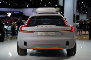 Volvo XC Coupe Concept Live From Detroit 2014