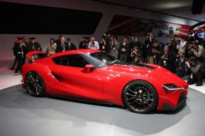 2014 Toyota FT-1 Concept Live From Detroit 2014