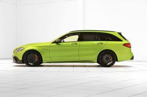 2016 Mercedes-AMG C63 Estate 650 Green Hell by Brabus