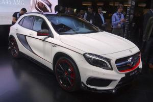 2014 Mercedes-Benz GLA45 AMG Live From Detroit 2014