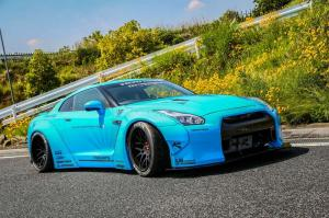 2014 Nissan GT-R by Liberty Walk on Forgiato Wheels
