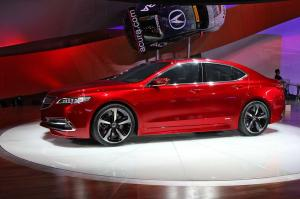 2015 Acura TLX Prototype Live From Detroit 2014