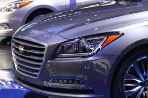 2015 Hyundai Genesis Sedan Live From Detroit 2014