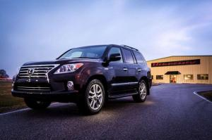 2014 Lexus LX570 by Hennessey Performance