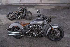 Indian motorcycles представляют Indian Scout 2015
