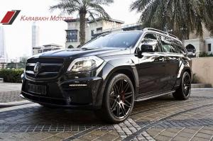 2014 Mercedes-Benz GL63 AMG by Brabus and Karabakh Motors