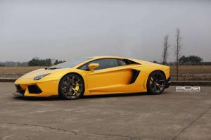 2014 Lamborghini Aventador on Bronze PUR Wheels by SR Auto Group