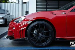 2014 Toyota GT86 by Tommykaira with Vorsteiner Wheels