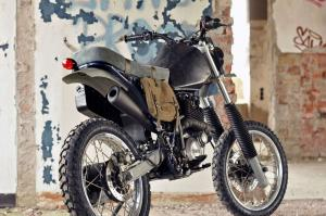 2014 Yamaha XT600 Arctic Monkey Custom by Left Hand Cycles