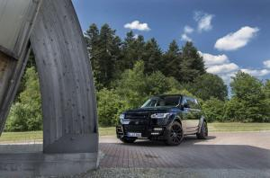 2014 Land Rover Range Rover CLR R Carbon Black by Lumma Design