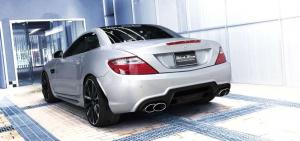 2014 Mercedes-Benz SLK-Class Black Bison by Wald