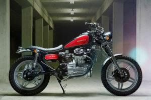 1979 Honda CXL500 Scrambler Custom by Kingston