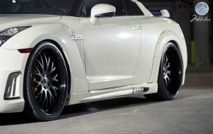 2014 Nissan GT-R by Wald on Modulare Wheels